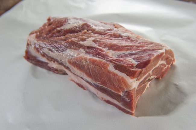 Pork Scotch for Pulled Pork