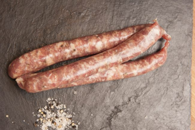 Italian pork sausages